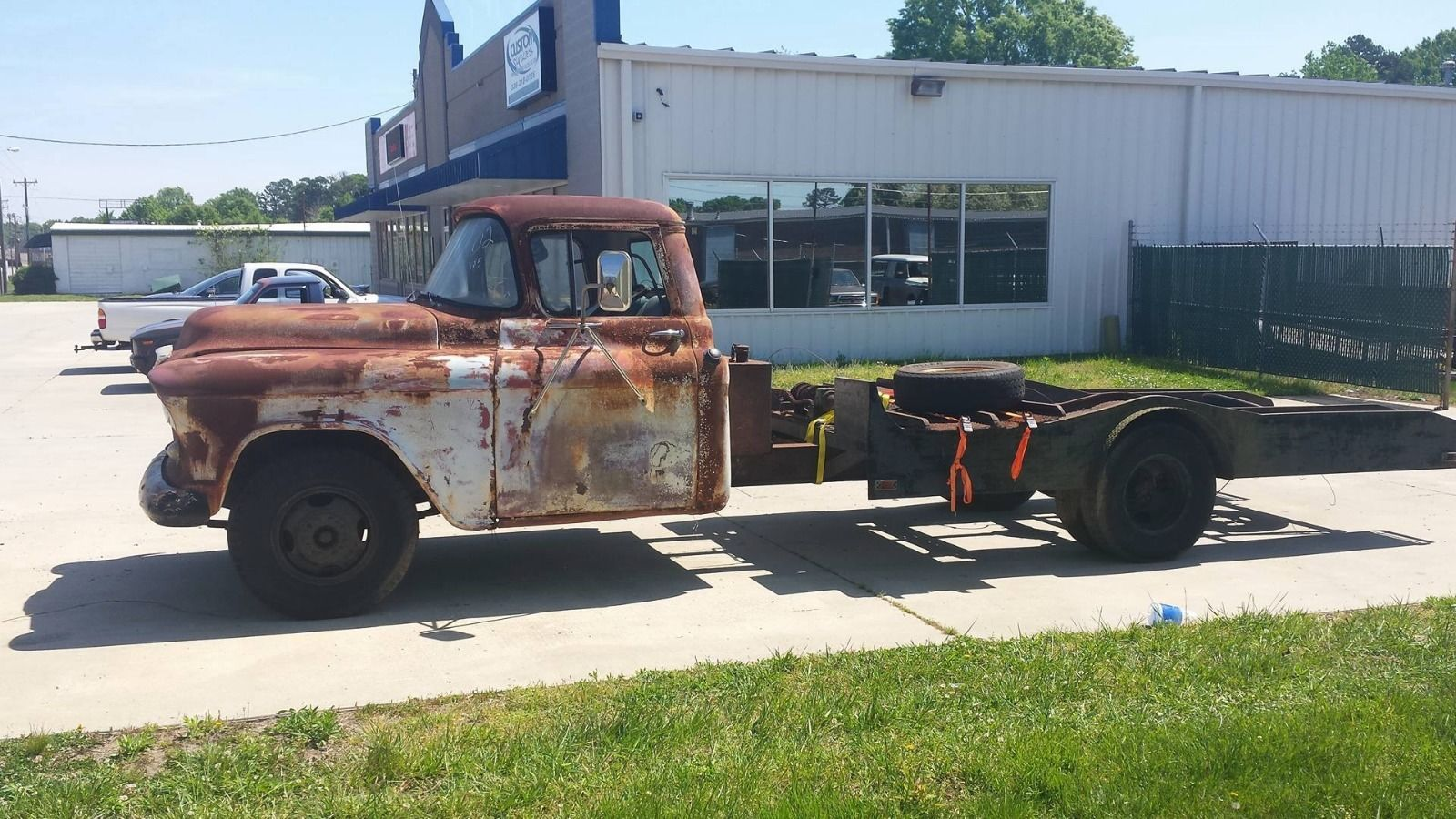 Chevy Vintage Hauler With A Great Potential As Your Next Hot Rod Rat Rod Project For Sale on Custom 1970 Chevy Pickup Truck