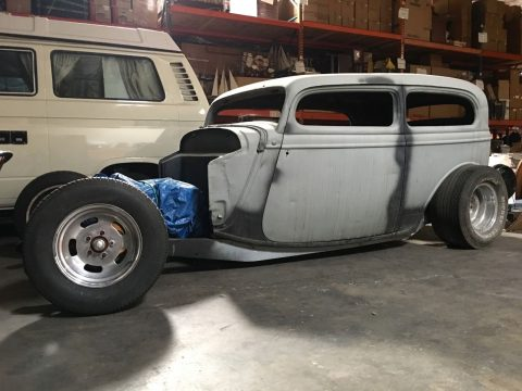 1933 Ford Chopped Steel Sedan Hot Rod for sale