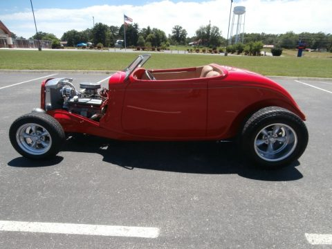 Ready to go cruisin 1933 Ford Roadster Street Rod with ZZ4 Engine for sale