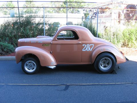 "1938 Willys Coupe: ""C C Rider"" Willys Record Setting 5-time National Champion Gasser for sale"