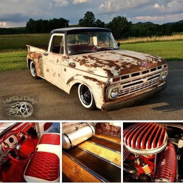 BEAUTIFUL 1964 Ford F 100 Patina Hot Rod for sale