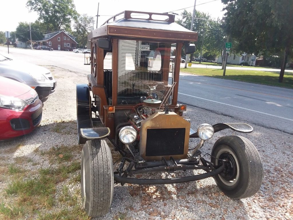 1922 Ford Model T Hearse Hotrod