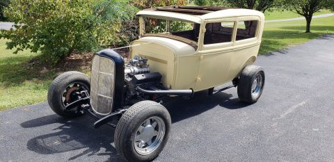 1931 Ford Model A Tudor Sedan Hot Rod project for sale