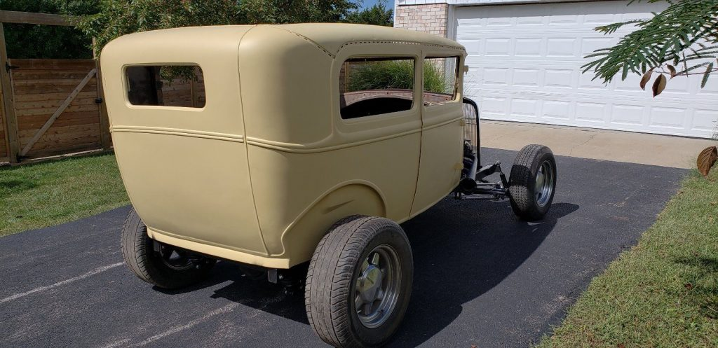 1931 Ford Model A Tudor Sedan Hot Rod project