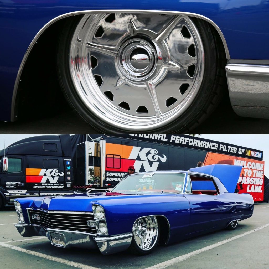 1967 Cadillac DeVille Bagged Show Car Hot Rod Street Rod
