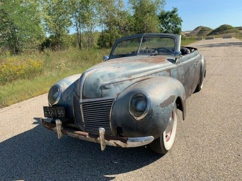 modified project 1939 Mercury hot rod for sale