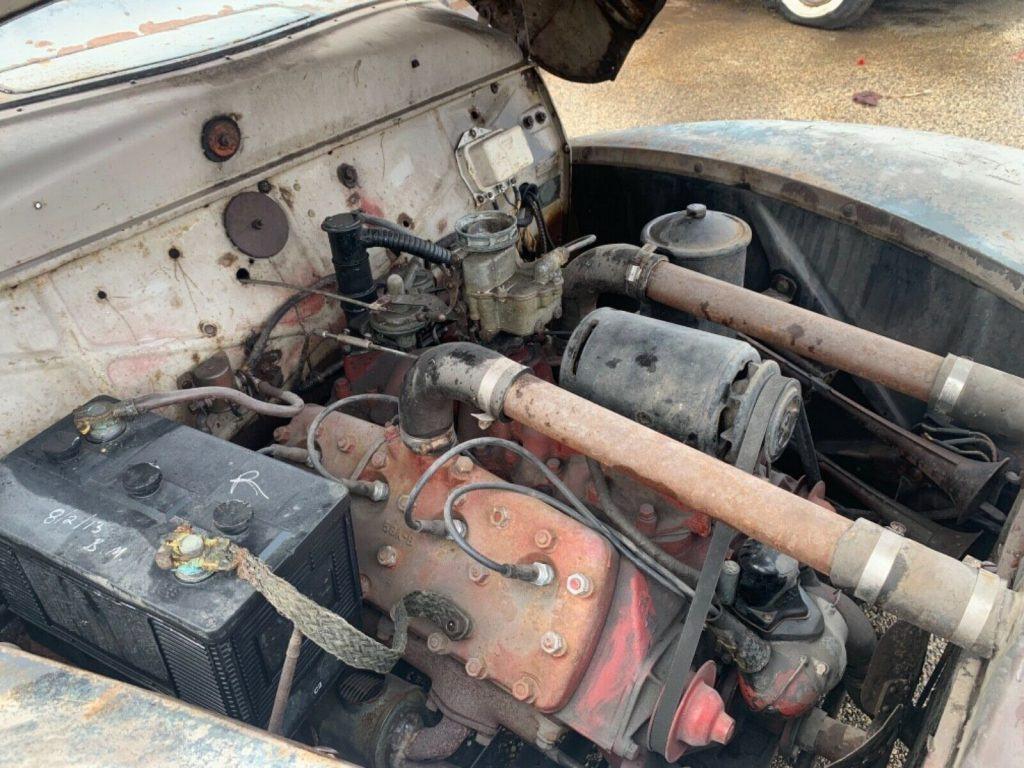 modified project 1939 Mercury hot rod